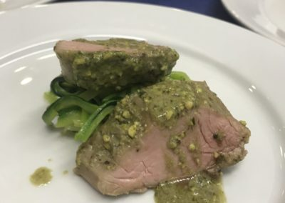 Filet de porc amb pesto